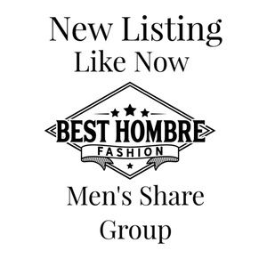 Like Now! Men's Style Party Share Group Tonight!